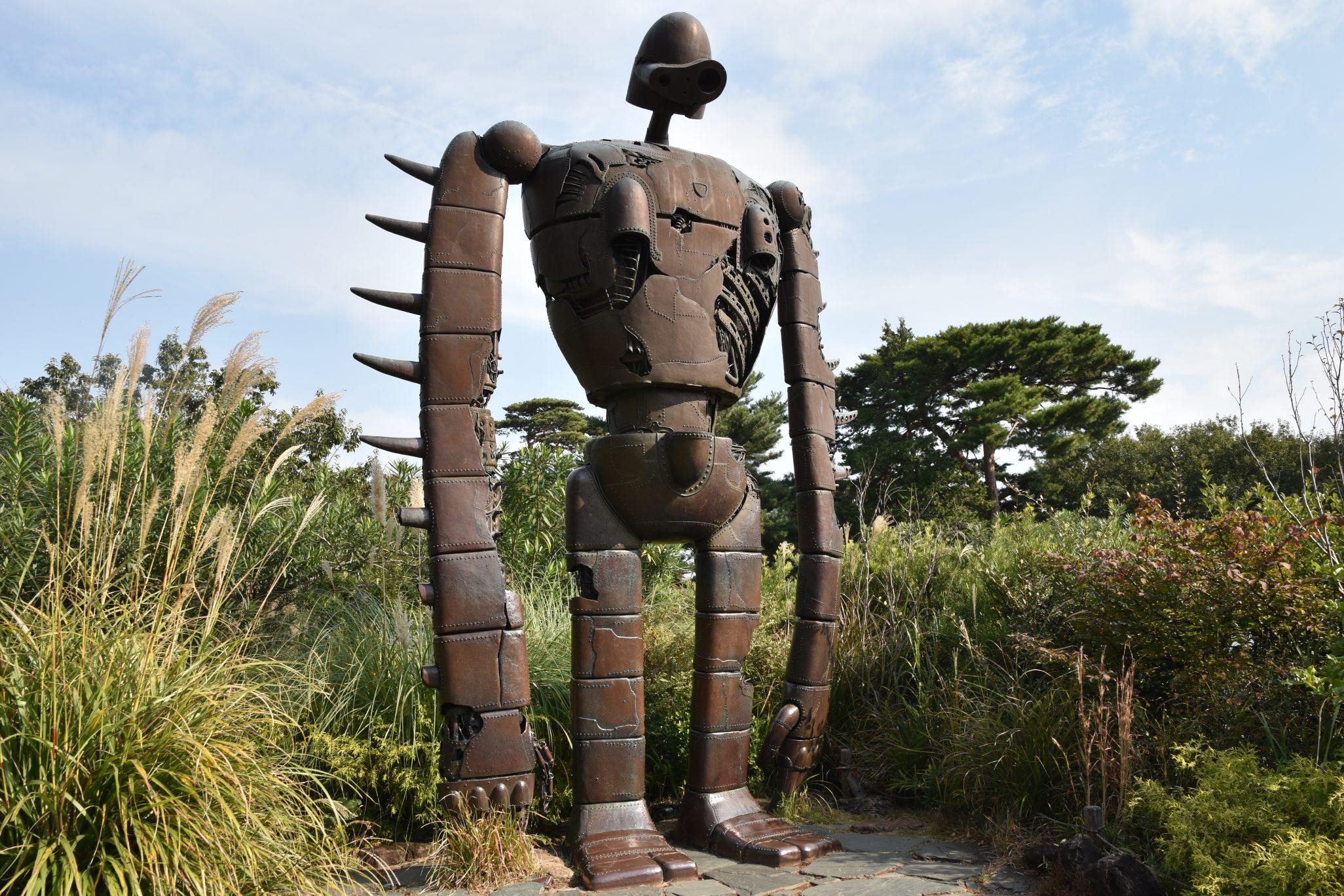ジブリ美術館のロボット兵|三鷹市